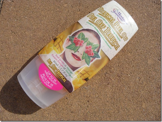 Montagne jeunesse – tropical peel off revitalising cleansing masque