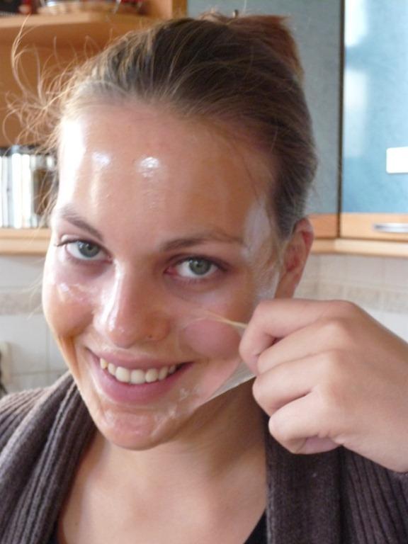 peel off masker zelf maken