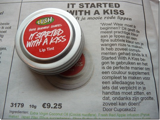 Lush – It started with a kiss