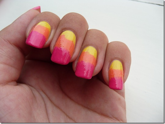 Zomerse nail art