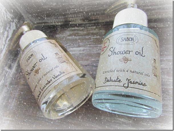 Sabon Shower Oils