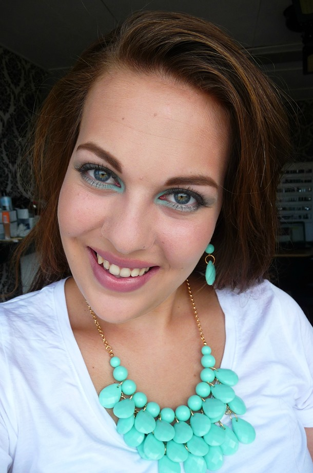 New – Turquoise ketting