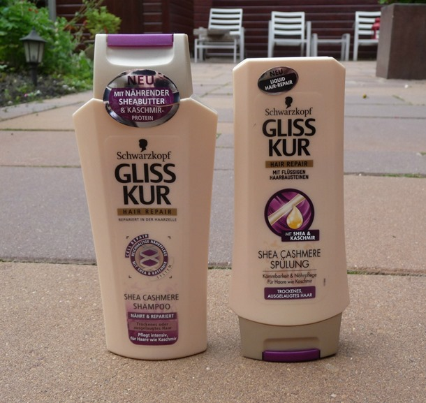 Gliss Kur – Shea Cashmere shampoo & conditioner