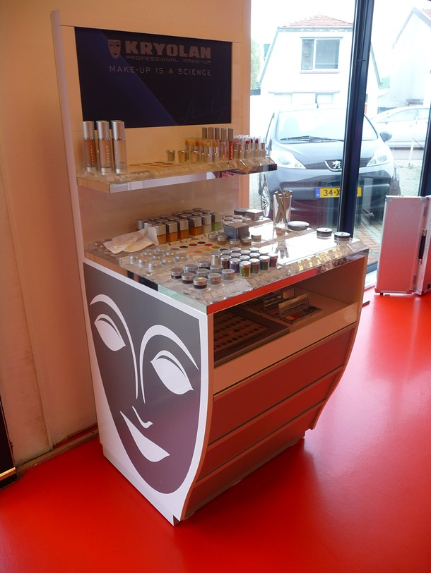 kryolan showroom impressie 228