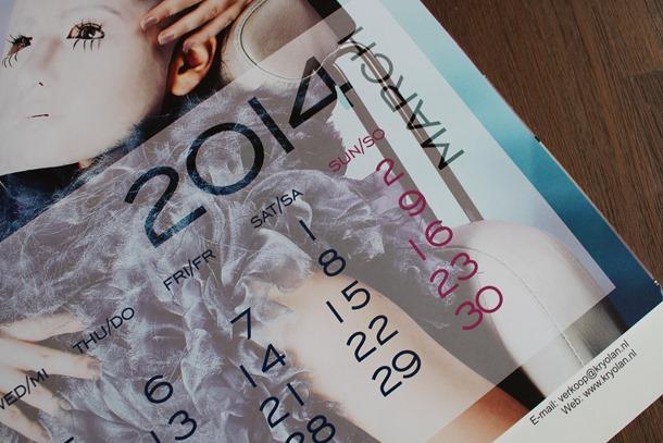 Kryolan kalender, home shoplog 022