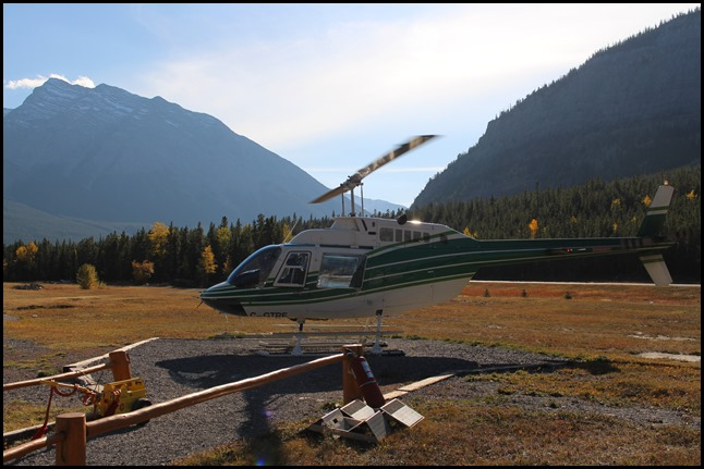 helikopter vlucht Canada Rocky Mountains kosten budget dollar euro blog tips