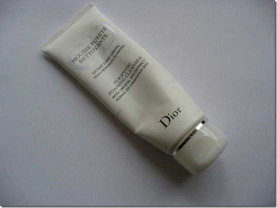 Dior – Purifying foaming cleanser