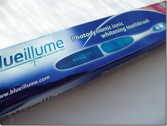 Reminder winactie Blue Illume – Photodynamic ionic whitening toothbrush