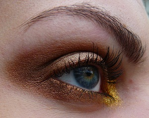 Project 'NYX pigmenten' #1 Gold