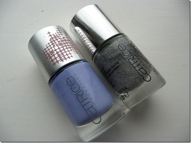 groene look,blauw geel nagels 153