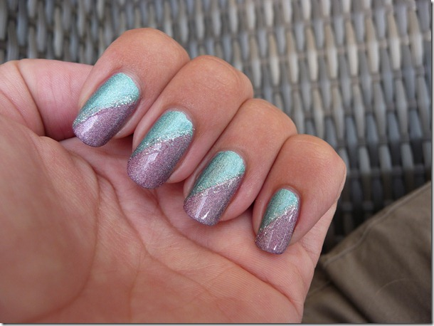 Holografische nail art
