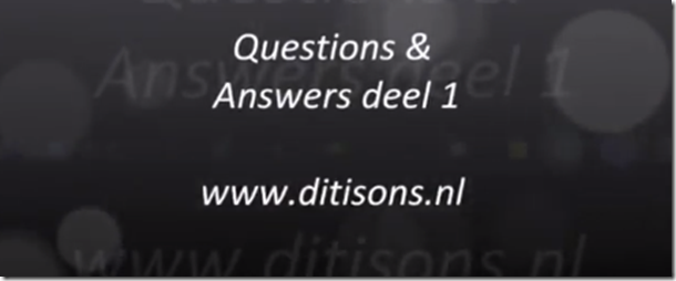 Questions & Answers deel 1