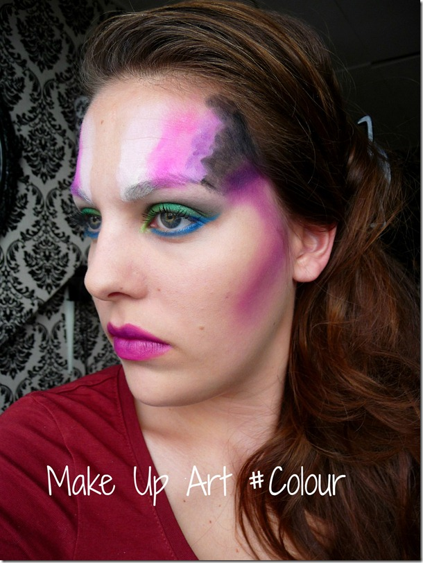 Make Up Art #Colour