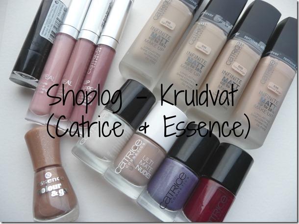 Shoplog – Sale bij de Kruidvat (Catrice & Essence geshopt)
