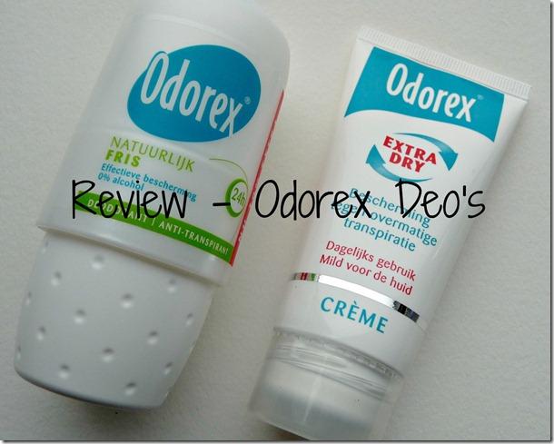 Odorex deo's