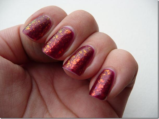 Nail Art Combo: Anny & Flakies