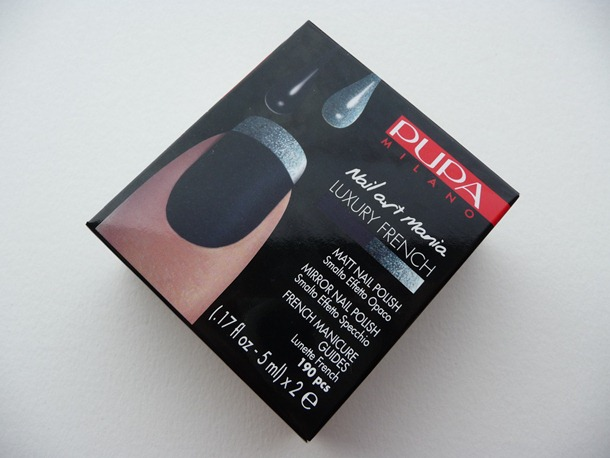 Pupa – Nail Art Mania Luxury French