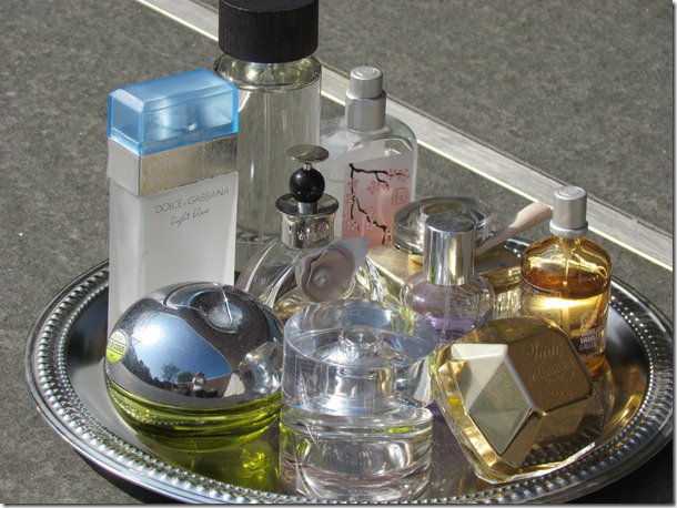 Mijn parfum stash