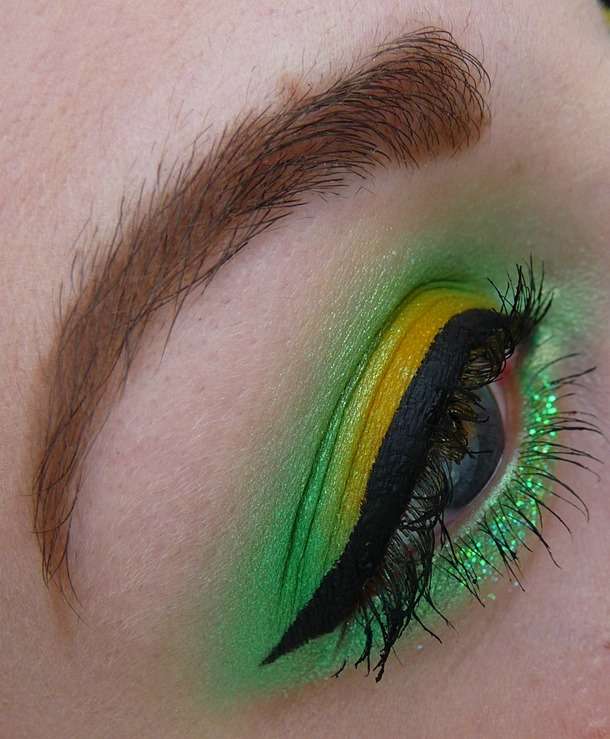 Inspired Lemon Lime Make Up