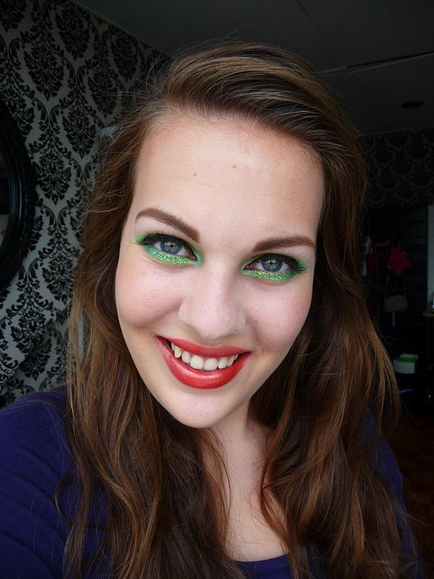lime look eyeliner 029