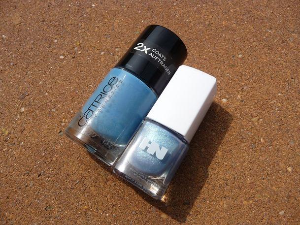 blauwe nagels pauwenlook 038