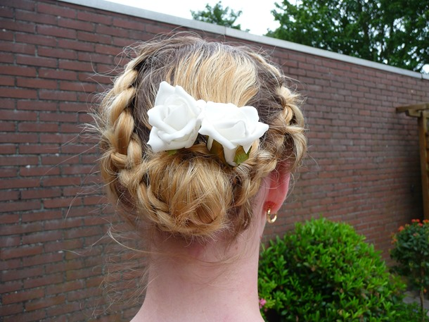 Bruiloft week – Bruiloft kapsel (haar tutorial)