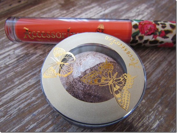 Accessorize Lipgloss en Eyeshadow