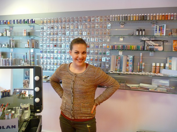 kryolan showroom impressie 300