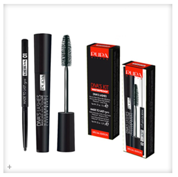 Winactie #3–Pupa Diva's Lashes kit waterproof mascara & eyeliner
