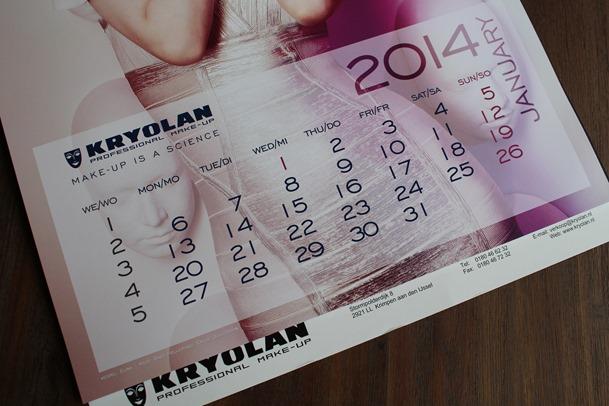 Kryolan kalender, home shoplog 017