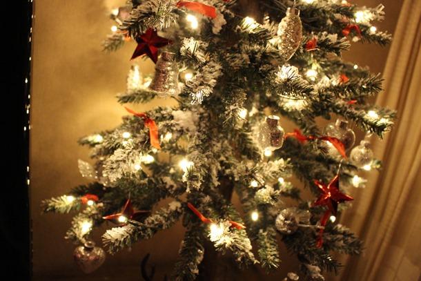 Kerstversiering bij mij thuis