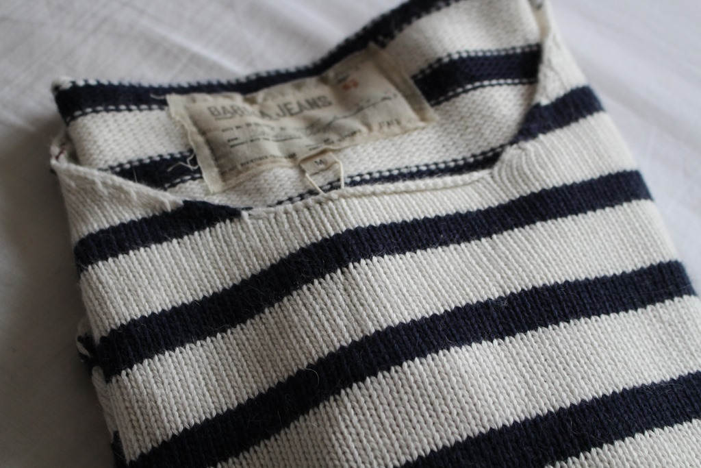 Wit Blauw Gestreepte Trui.Nieuwe Trui Van Garcia Jeans Dit Is Ons