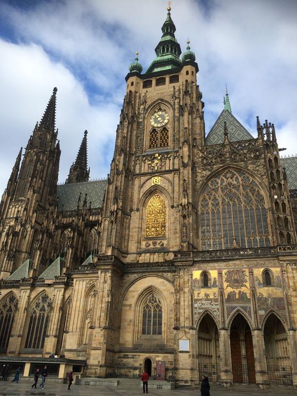 Praags Kasteel/St. Vitus Cathedral – Praag, Tsjechië