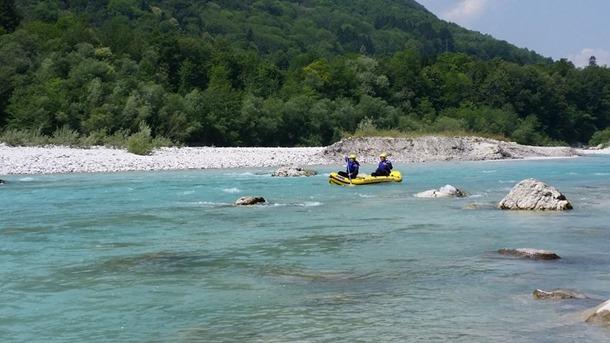 Raften in Slovenië
