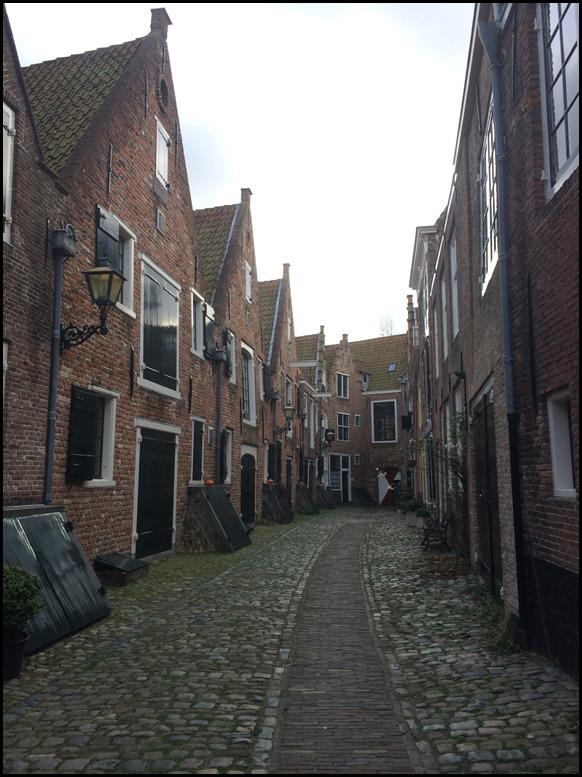 Middelburg Nederland stadhuis binnenstad stedentrip
