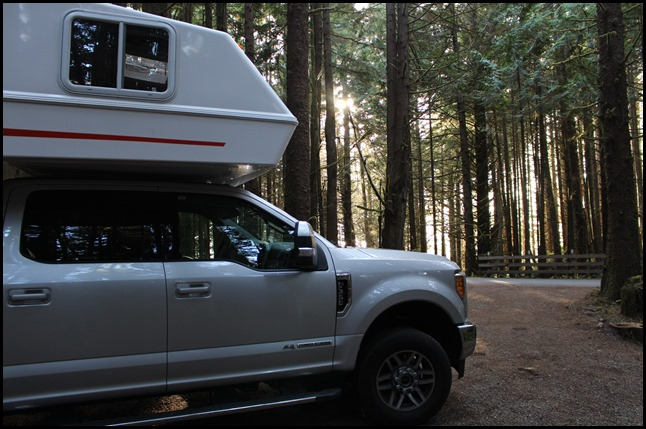 Favoriete campgrounds in West-Canada